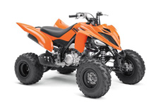 Eye‑possing Performance, Value – The Raptor 700 offers true pure sport ATV performance at an unbeatable price.